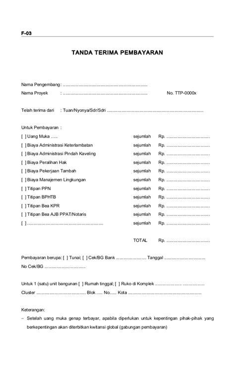 Contoh Kwitansi Tanda Terima by Contoh Form Faktur Pajak Excel Terbaru 10