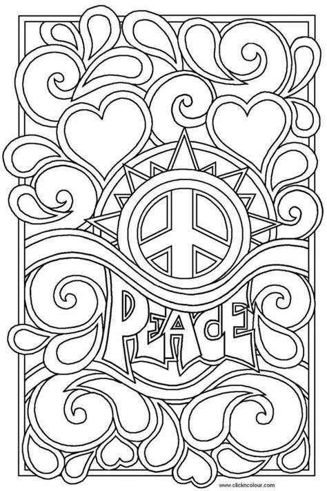 peaceful patterns coloring pages cool coloring pages for teenagers coloring home