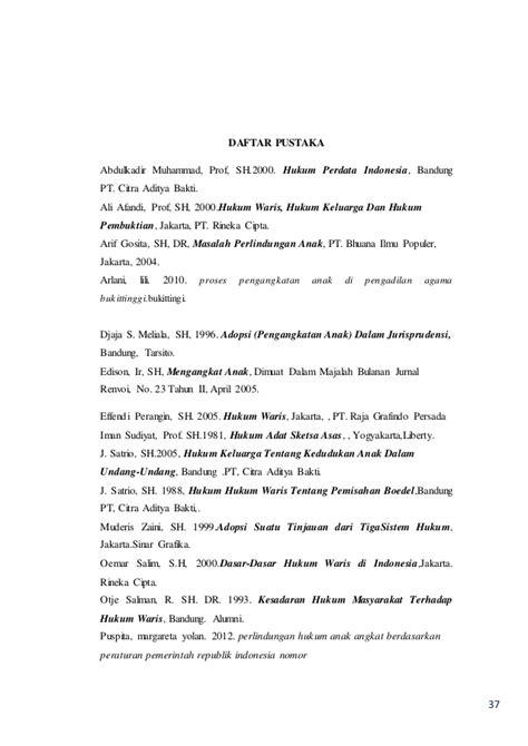 Pengangkatan Anak Adopsi Di Indonesia Djaja S Meliala Sh makalah pkn makalah pendidikan kewarganegaraan hukum pengangkatan an