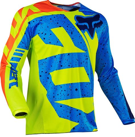 kids motocross jerseys 22 95 fox racing kids boys 180 nirv mx motocross riding