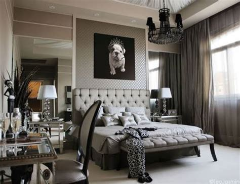 glamorous bedroom decor chandeliers in bedrooms