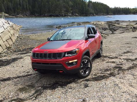 How Much Can A Jeep Compass Tow On The Road Review Jeep Compass Trailhawk 4x4 The