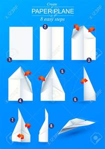 Make A Paper Airplane Easy - how to make a origami paper airplane tutorial