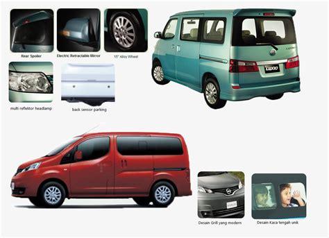 Kaca Spion Mobil Luxio compare low carier daihatsu luxio vs nissan evalia lonews