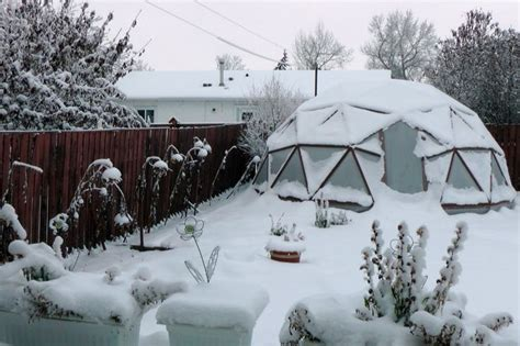backyard greenhouse winter 277 best images about geodesic dome greenhouse on pinterest geodesic dome