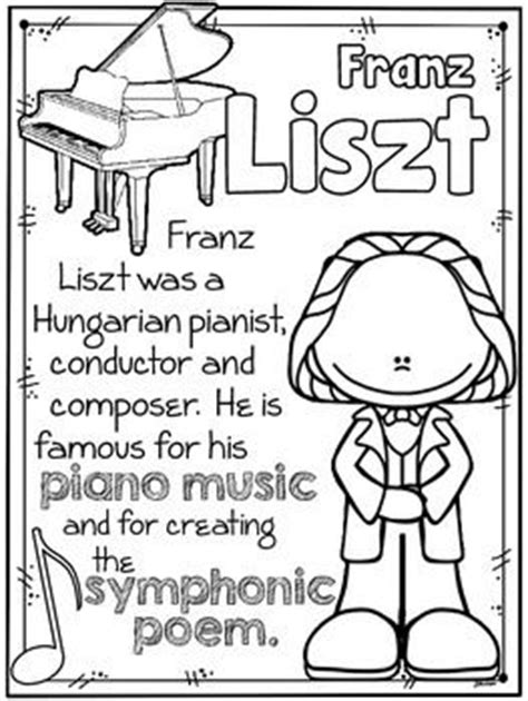 classical music coloring pages 17 best images about music classroom on pinterest