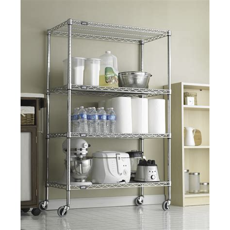 chrome wall shelves kitchen wall mounted wire shelving units shelves