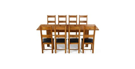Emsworth Oak 180 250 Cm Extending Dining Table And 8 Oak Extending Dining Table And 8 Chairs