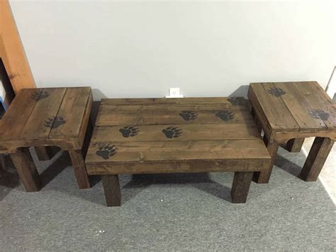 claw coffee table end tables 1001 pallets