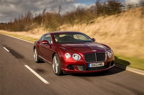 bentley continental gt speed on the road gallery
