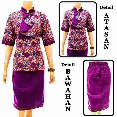 Dress Batik Setelan Batik dress batik setelan blouse dan rok