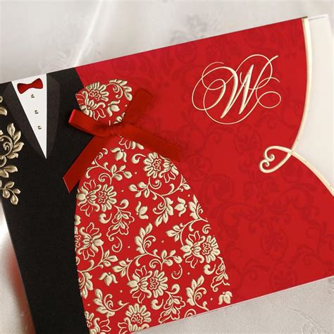 Special Wedding Invitation Card by Special Wedding Invitations Cards Folded With Bridal