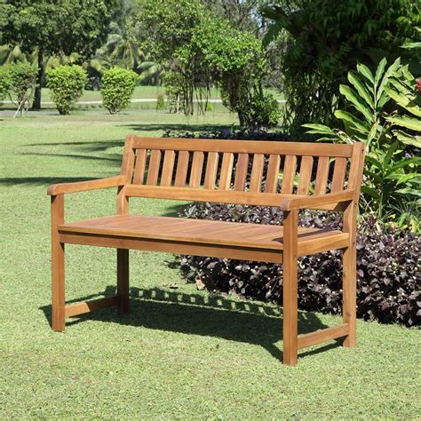 solid wood outdoor bench catalan outdoor teak bench with solid wood construction