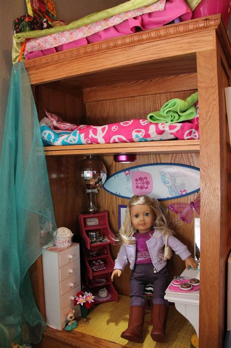 how to make an ag doll room american doll play a look at s doll room