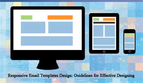 responsive email templates design guidelines for