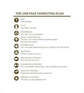 simple plan template simple marketing plan template 13 free word excel pdf