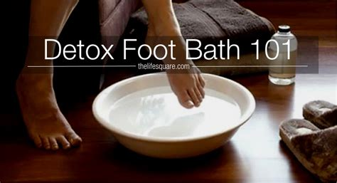 Detox Foot Bath by Get Rejuvenated With Detox Foot Bath After A Tiresome