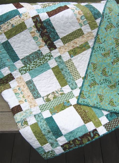 Easy Quilt Patterns Using Quarters by Patchwork Quilt Pattern Jelly Roll Or Quarters Simple