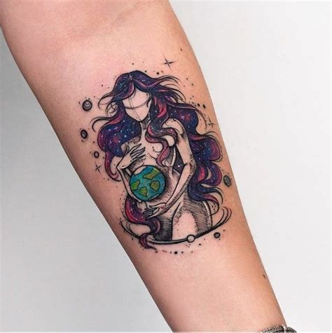 mother earth tattoo best 25 earth ideas on