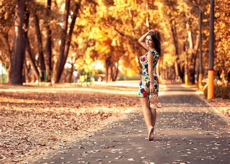 Roadmap To Beautiful Legs by Autumn Walking On Road Beautiful Legs Hdwallpaperfx