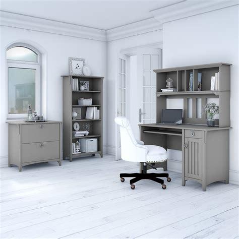 bush furniture salinas mission desk  hutch lateral