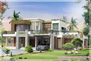 Home Plans Modern modern contemporary home design kerala home design and floor plans