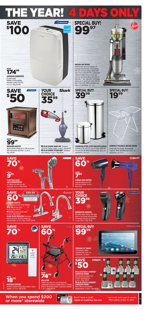 Conair Hair Dryer Canadian Tire canadian tire weekly flyer black friday nov 27 30 redflagdeals