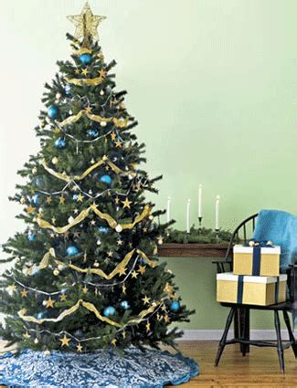 sky blue christmas colors for holiday decorating