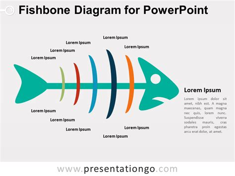 ishikawa template powerpoint fishbone diagram for powerpoint presentationgo