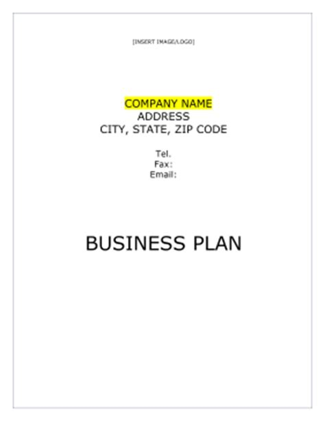 insurance business plan template insurance business plan