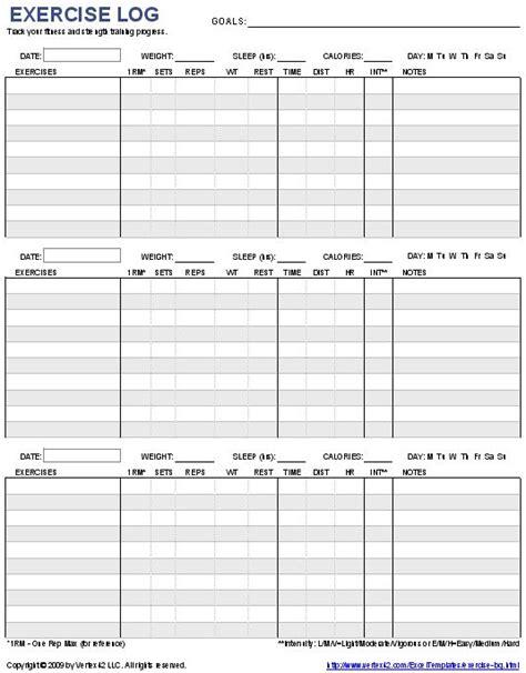pattern recording sheet workout log template best 25 workout log ideas on