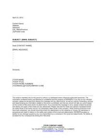 disclaimer template letter email confidentiality and disclaimer notice template