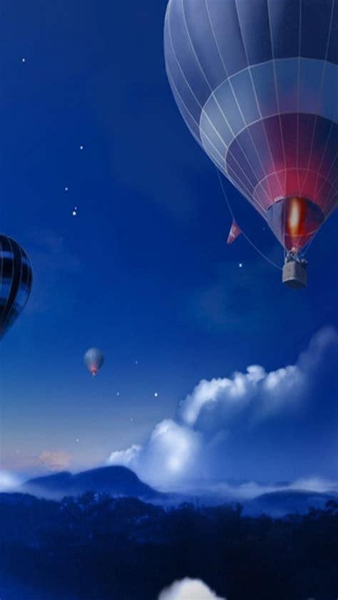 galaxy wallpaper balloon air balloon wallpaper wallpapersafari