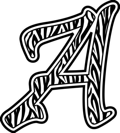 printable alphabet cliparts clip art