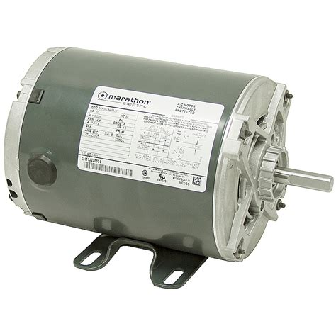 1 3 hp 1425 rpm 110 220 marathon motor odp 50hz ac