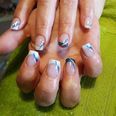 easy acrylic paint nail 26 summer acrylic nail designs ideas design trends