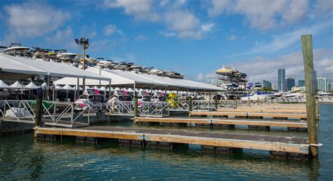 miami boat show uber yachts miami beach redesign to enhance show experience
