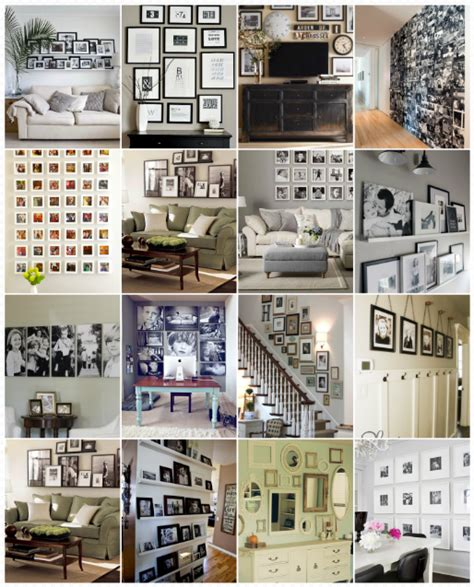 photo wall themes gallery and photo wall inspiration ideas