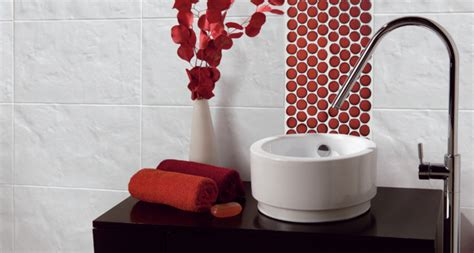 red bathroom inspiration � rotator rod