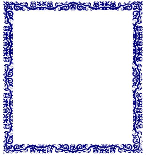 blue certificate border 22 blue border templates blank certificates