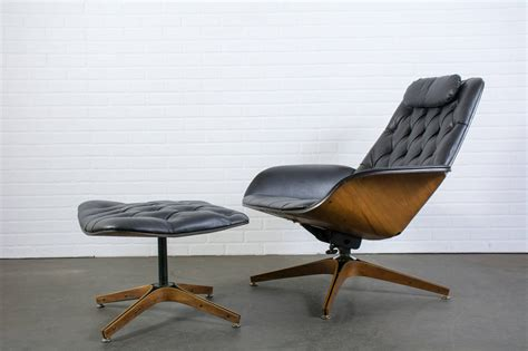 Mid Century Modern Lounge Chair by Mid Century Modern Lounge Chair And Ottoman By George