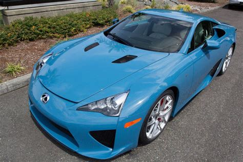 lexus lfa blue photo of the day slate blue lexus lfa gtspirit