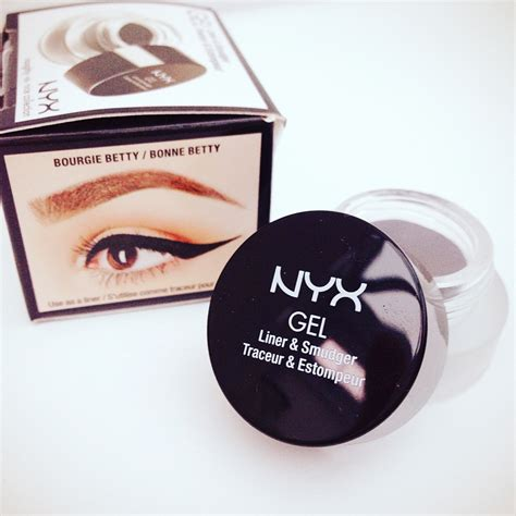 Nyx Gel Liner nyx gel liner and smudger review rachael divers makeup