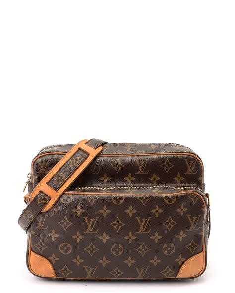 Lv Shoulder louis vuitton monogram nil shoulder bag in brown lyst