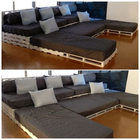 sofa cinema pallet cinema sofa build it pinterest madeira