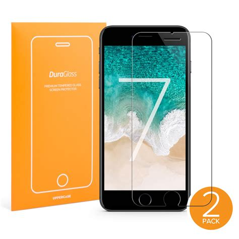 iphone  screen protector  pack uppercase duraglass
