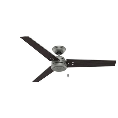 black and silver ceiling fan 59262 cassius contemporary matte silver black