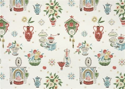for a retro kitchen hannah s treasures vintage wallpaper