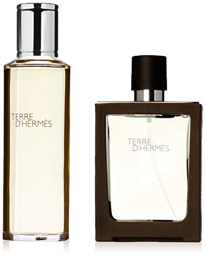 Hermes Parfum Original Terre D Hermes Edt Refillable Set hermes terre d hermes geschenkset 30ml edt refillable