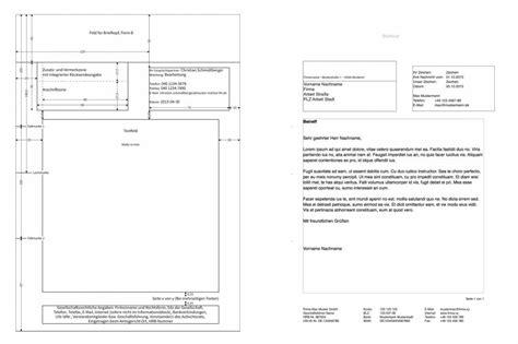 pages norm din 5008 brief vorlage numbersvorlagen de